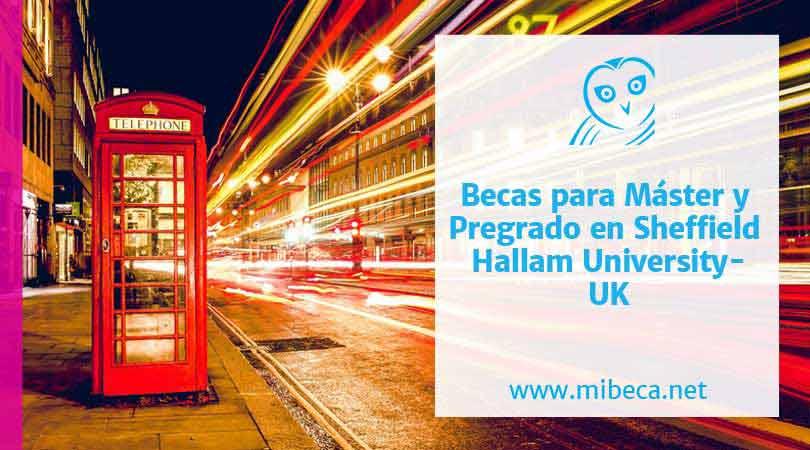 Becas de máster en el Reino Unido – Sheffield Hallam University