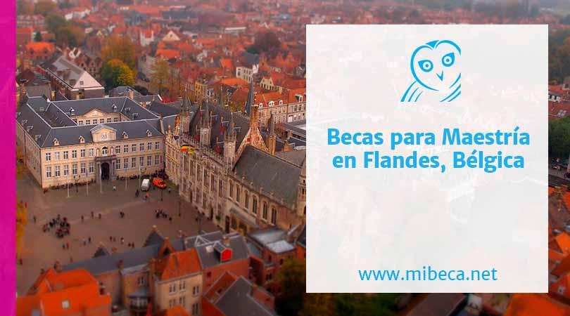 Becas maestria Belgica