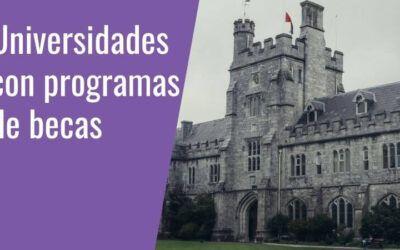 Becas universitarias para estudiar una maestria en el extranjero