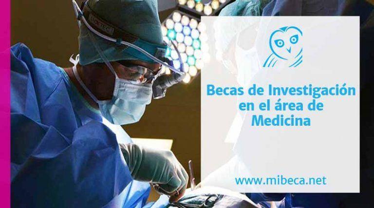 Becas doctorales en medicina