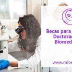 Becas para estudiar un Doctorado en Biomedicina