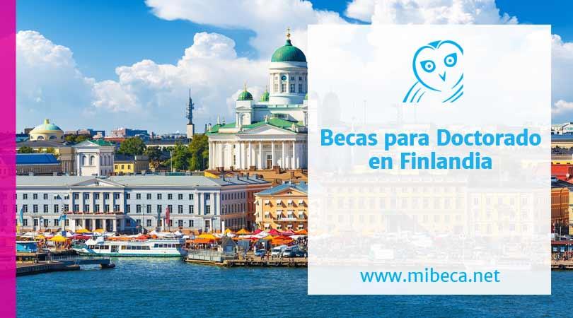 Becas Doctorado en Finlandia