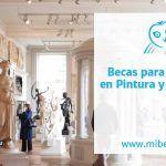 Becas para artistas en pintura y escultura