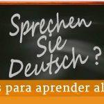 Becas para estudiar y perfeccionar alemán