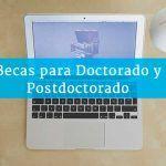 Becas para Doctorado y Postdoctorado en Argentina