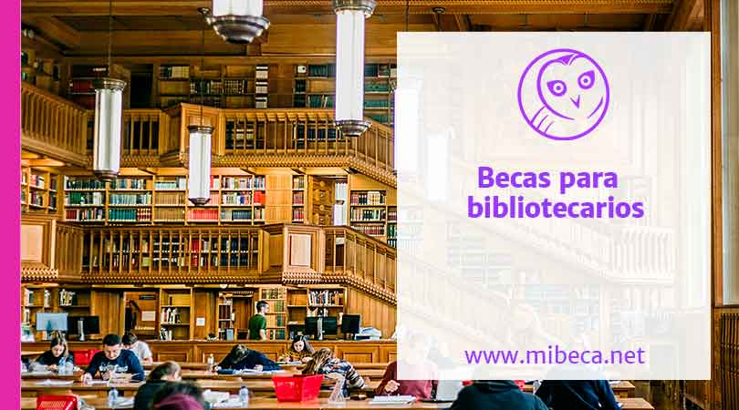 Más de 10 becas para bibliotecarios