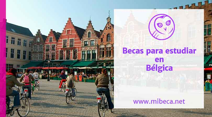Becas para estudiar en Bélgica con VLIR-UOS