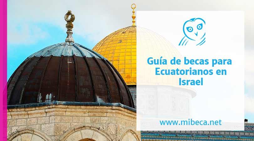 Beca_ecuatorianos_Israel