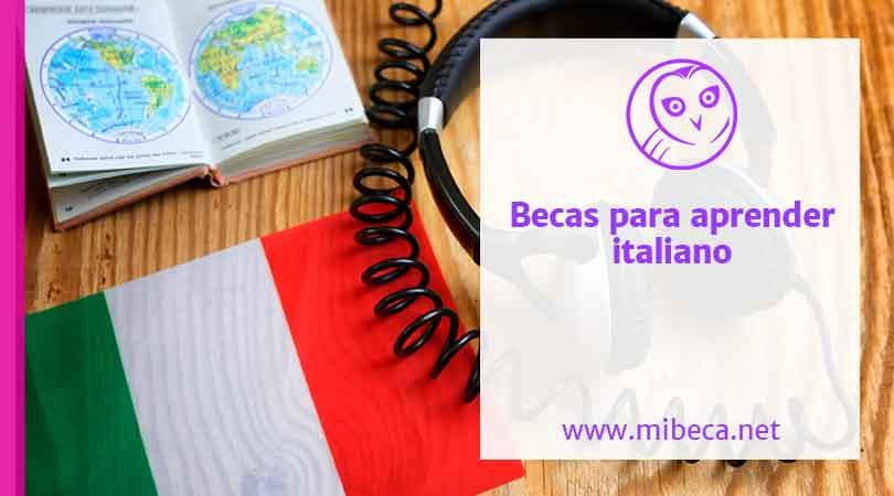 Más de 100 becas para estudiar italiano en el 2020