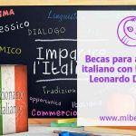 La Escuela Leonardo Da Vinci ¡Ofrece 40 becas para estudiar italiano!