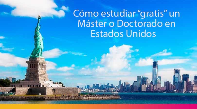 estudiar gratis un master en Estados Unidos