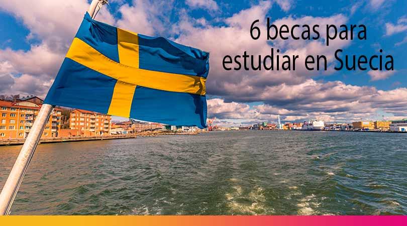 6 becas para estudiar maestría en universidades top en Suecia
