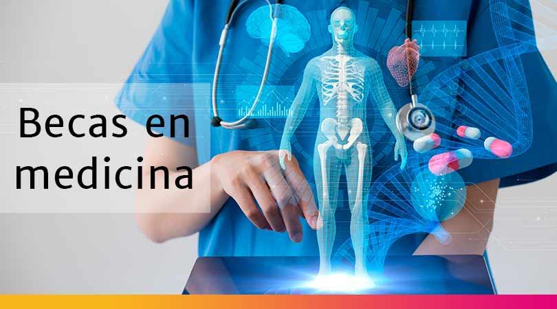 Más de 100 becas para estudiar medicina