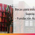 Becas para estudiar en Suecia: becas de la Fundación Adlerbert