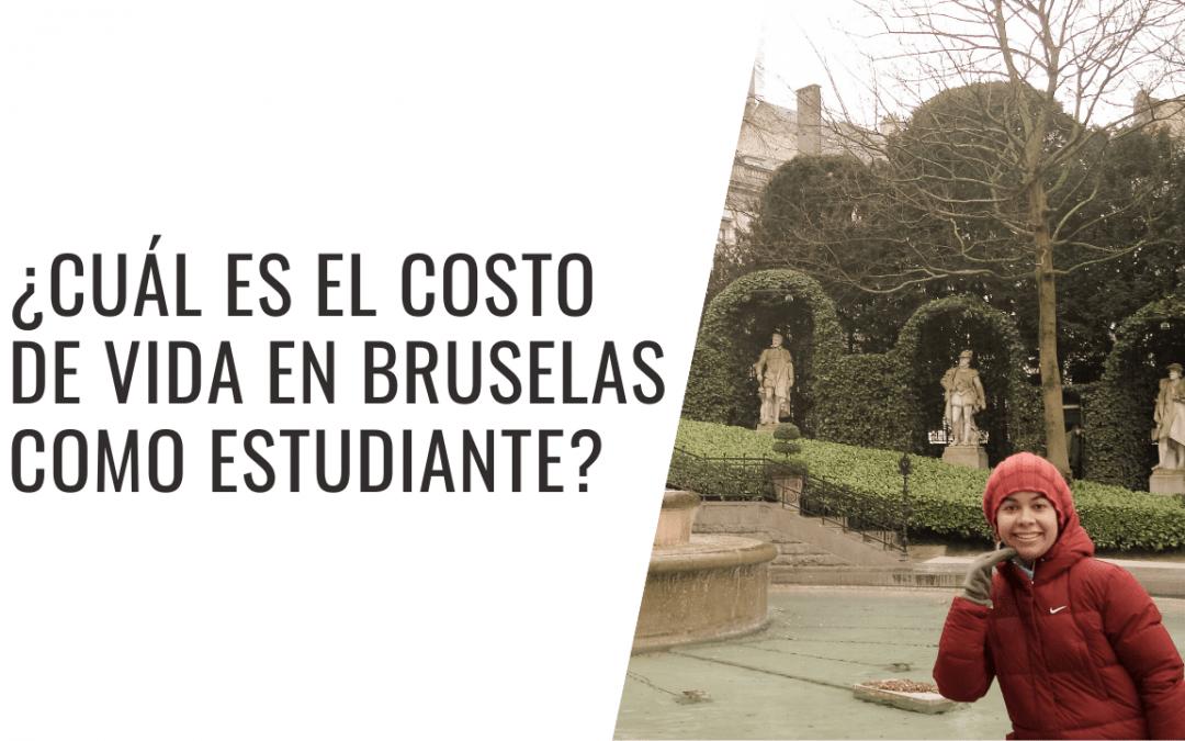 Costo de vida en Bruselas para estudiantes