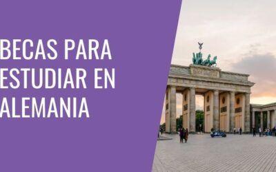 Becas para estudiar en Alemania [2022]